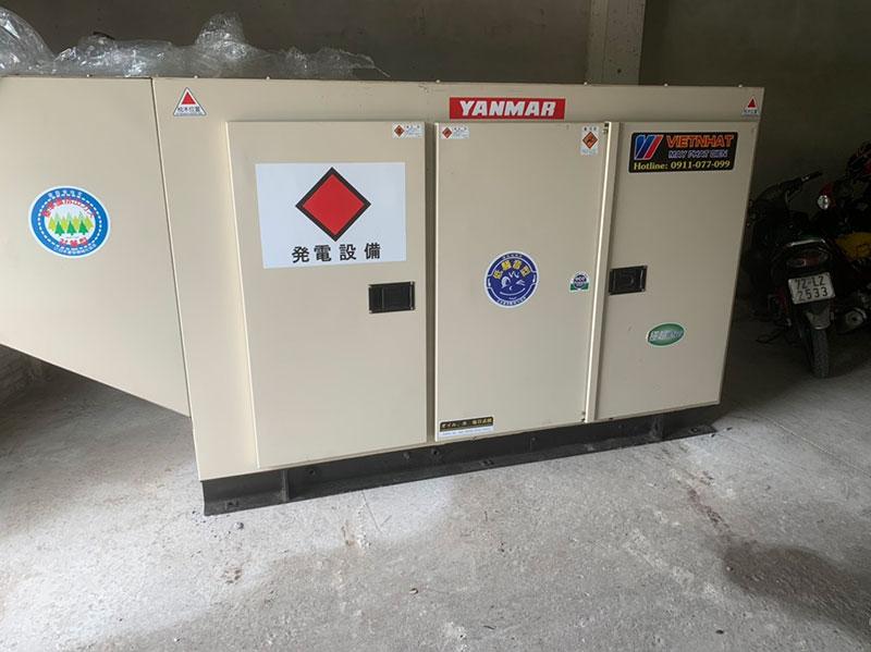 Máy phát điện tại Bạc Liêu
