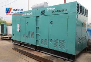 Máy phát điện cũ 800kva (640kw)