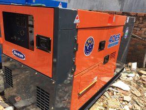 Máy phát điện cũ 40kva (32kw)