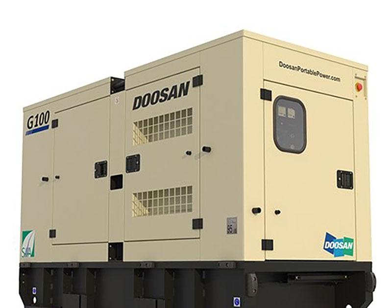 Máy phát điện Doosan 100kva (80kw)