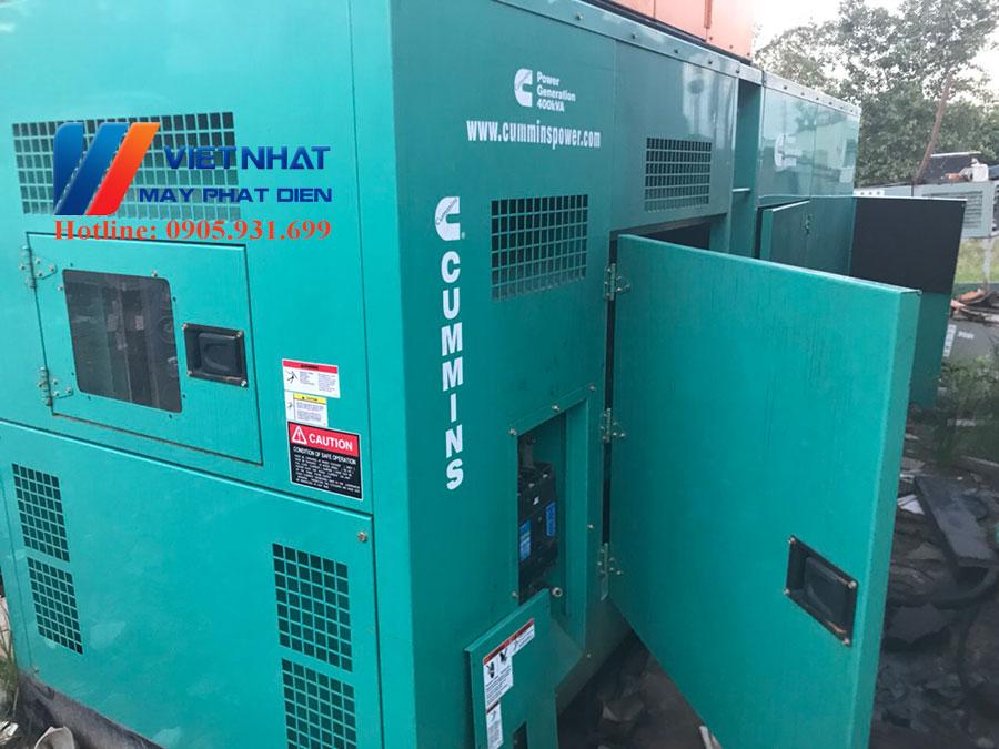 Thanh lý máy phát điện chạy dầu diesel