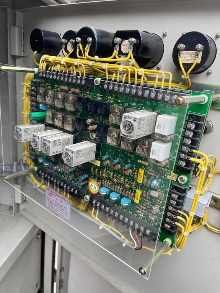 Mạch điện máy phát 400kva