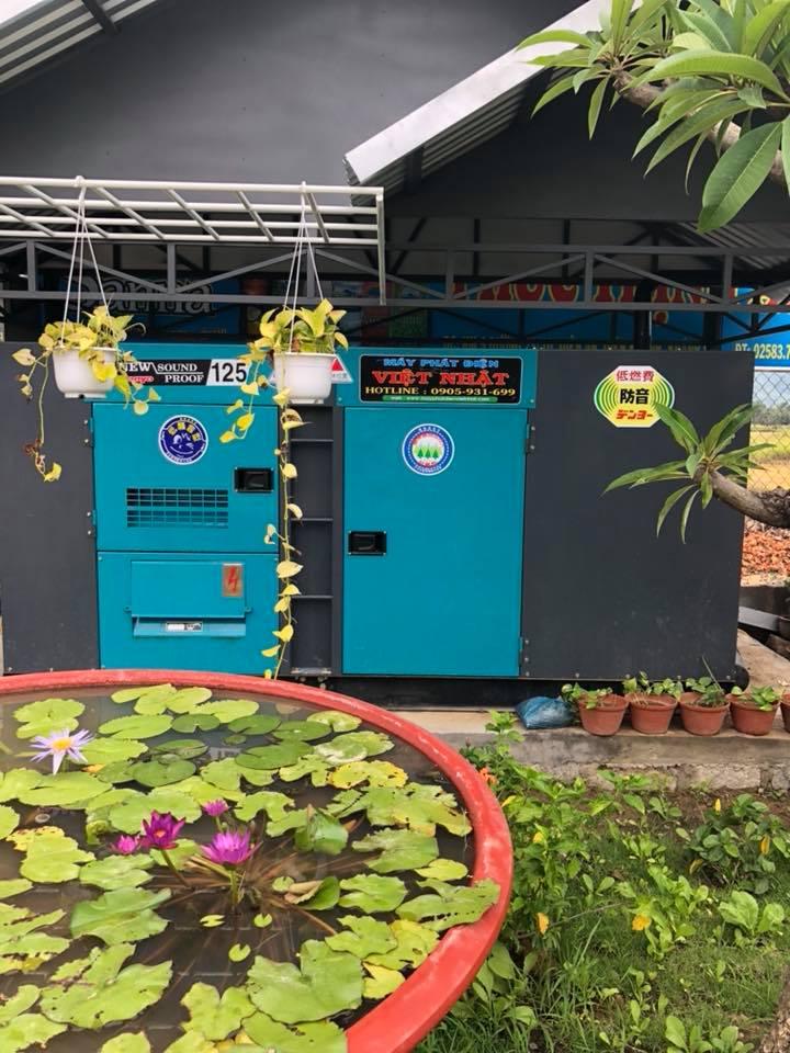 Máy phát điện 125kva Việt Nhật