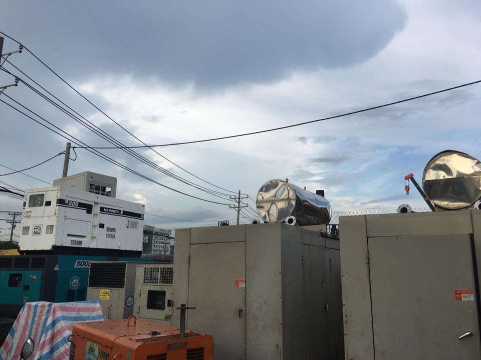 Máy phát điện công nghiệp 500kva