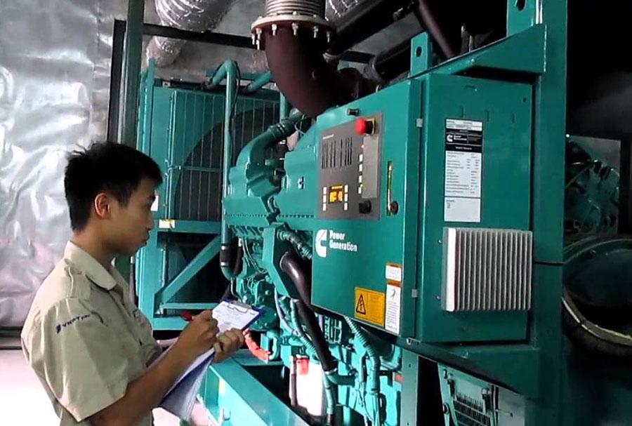 Quy trình vận hành máy phát điện