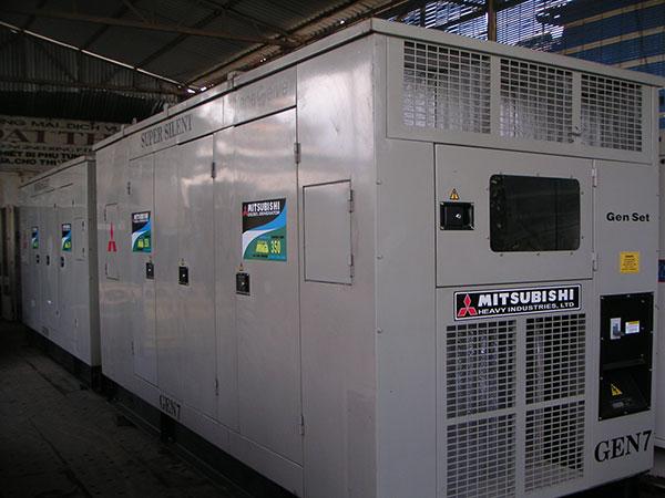 bán và cho thuê máy phát điện mitsubishi