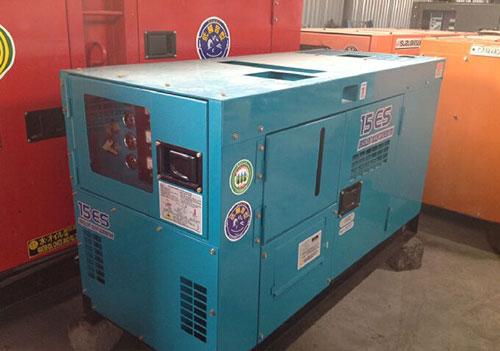 máy phát điện cũ 15kva denyo