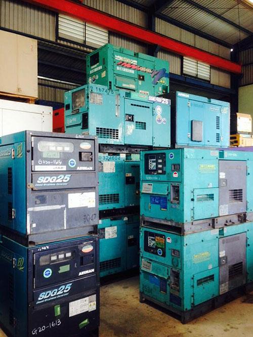 máy phát điện cũ còn chất lượng