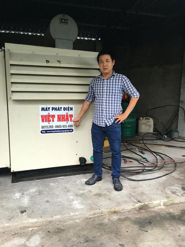 Máy phát điện cũ Việt Nhật