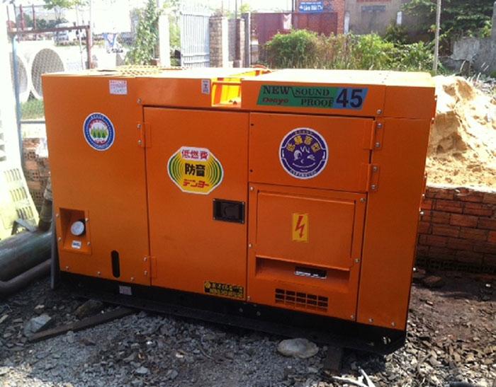 Máy phát điện Denyo phục vụ trong công nghiệp