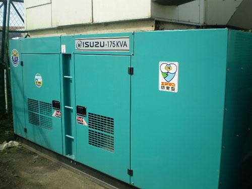 Máy phát điện Isuzu 125KVA