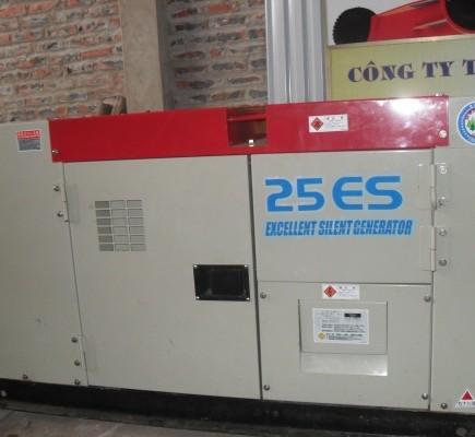 Máy phát điện Isuzu 25KVA động cơ 4LE2
