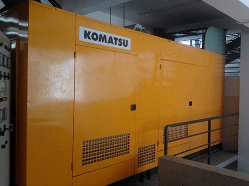 Máy phát điện Komatsu 500kva