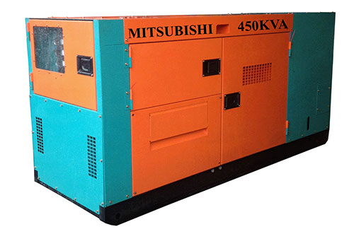 Máy phát điện Mitsubishi 450KVA