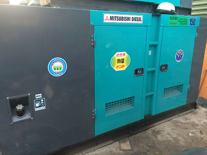 Bán và cho thuê máy phát điện Mitsubishi giá rẻ tại TPHCM